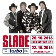 Legenda Slade v Brně a Praze!