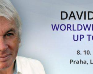Vizionář a spisovatel David Ick odkryje vPraze tajemství