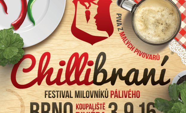 Žhavý festival Chillibraní bude plný pálivých papriček, koření a dobré atmosféry