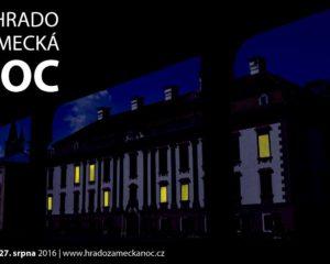Poslední prázdninovou sobotu propukne Hradozámecká noc na zámku Kunín