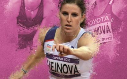 První kniha o olympioničce Zuzaně Hejnové právě na pultech!