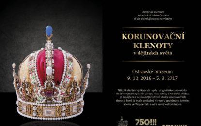 Kulturní vrchol tohoto roku: Výstava korunovačních klenotů v Ostravě