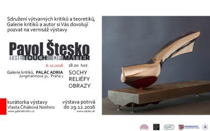 Pavol Stesko – The Touch of Matter
