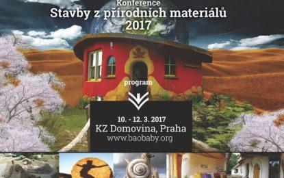Stavby z přírodních materiálů Praha 2017