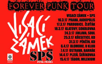 Divoká dvojka Visací Zámek a SPS spojili síly a vyrážejí na Forever Punk Tour