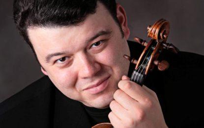 """Vadim Gluzman zahraje v Ostravě na """"stradivárky"""" z roku 1690"""