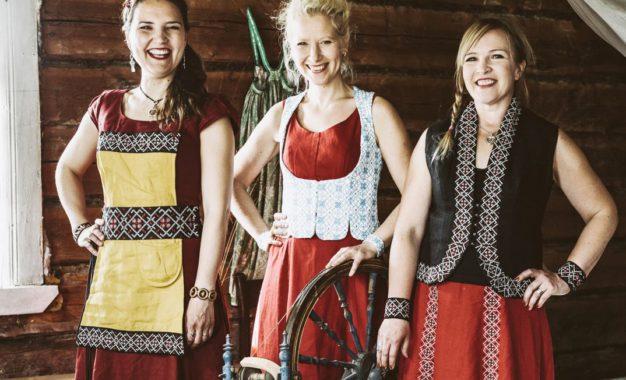 Värttinä a BraAgas: poznejte finskou lidovou hudbu na Mezinárodním víkendu žen