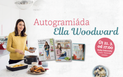 Autogramiáda food blogerky Elly Woodward