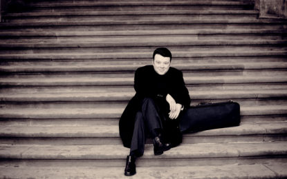 Soutěž o vstupenky na houslový koncert Vadima Gluzmana