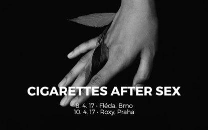 Cigarettes After Sex svým zasněným popíkem odstartují turné vyprodanou Flédou
