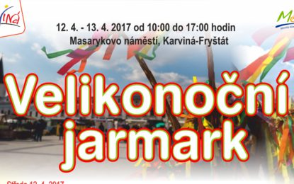 Holky pozor, na jarmarku v Karviné vás čeká velikonoční výprask!