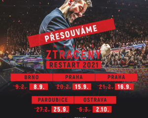 """Marek Ztracený přesouvá turné """"RESTART 2021″"""