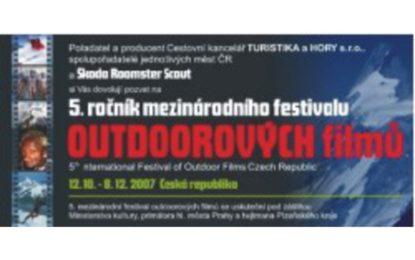 Mezinárodní festival outdoorových filmů 2007 skončil