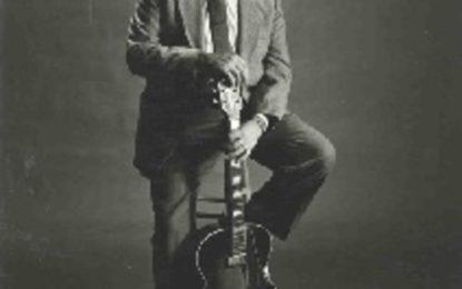 Bluesový kytarista Duke Robillard v Praze