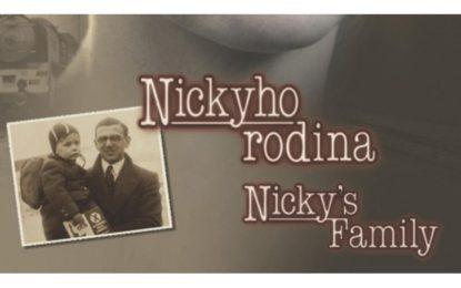 Nový film ,,Nickyho rodina,, je hotov !!!