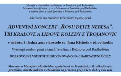 """Adventní koncert """"Rosu dejte nebesa"""" a lidové ko"""