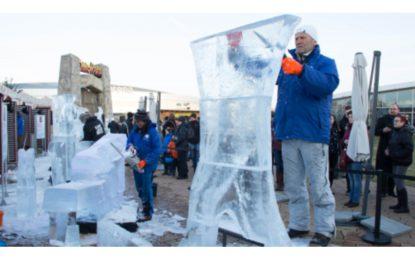 Festival ledových soch letos nabídne postavy z Večerníčků